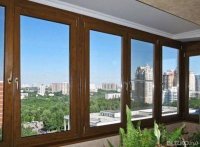 Балконы, остекление лоджий, металопластиковые окна - окна / .