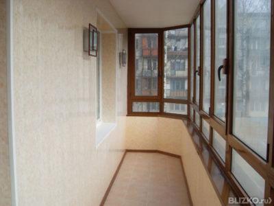 Остекление балконов раздвижными пвх-системами от 460.00 бел..