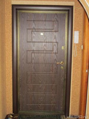 эконом стальные двери в тамбур