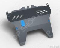 Комплект: защита картера и крепеж Novline-Autofamily FAW V5 2013: 1,5 бензин МКПП - фото 10