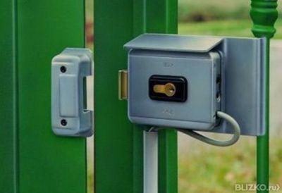 Электрозамок своими руками на ворота 66