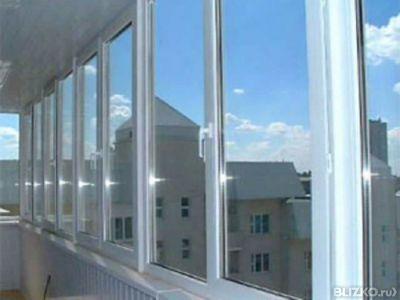 Пластиковые окна, двери. остекление балконов, лоджий. - услу.