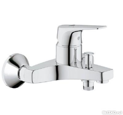 Купить каскадный смеситель без душа навесная полка ванную комнату