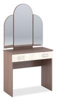 Бася СТ-551 Стол макияжный (Шимо тёмный, Шимо светлый)