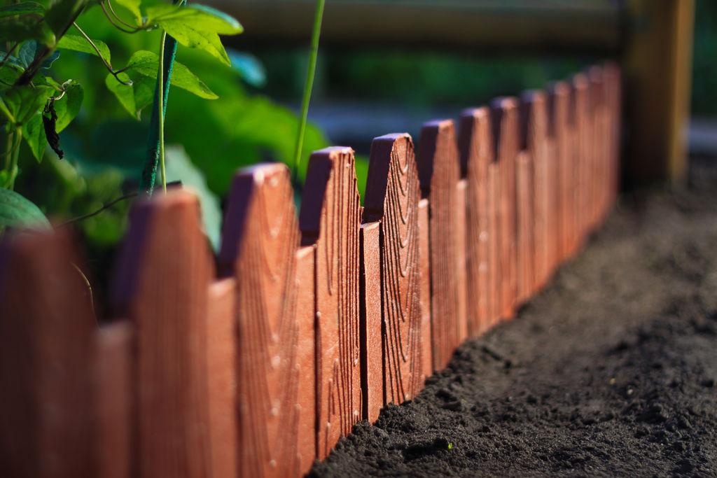 Садовое ограждение деревянное 500*270*12 мм от компании Вторпласт-Екб купить в городе Екатеринбург