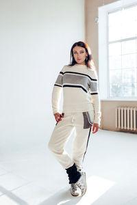 3f3b5626467 Костюм спортивный женский вязаный. Ткань  итальянская ангора с шелком